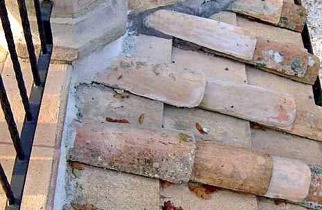 Coppi e tegole Palmucci in cotto fatto a mano