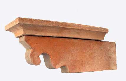 Immagine di barbacane in cotto fatto a mano