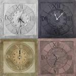 Orologi realizzati a mano in terracotta