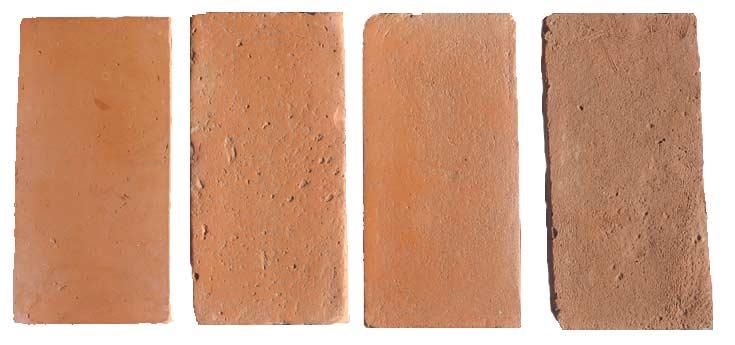Terrecuite fait à la main, série de couleurs roses, per le four Palmucci