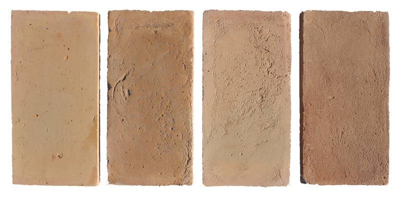 Terrecuite fait à la main, série de couleurs claires, per le four Palmucci